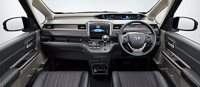 2016 Honda Freed MPV dashbord