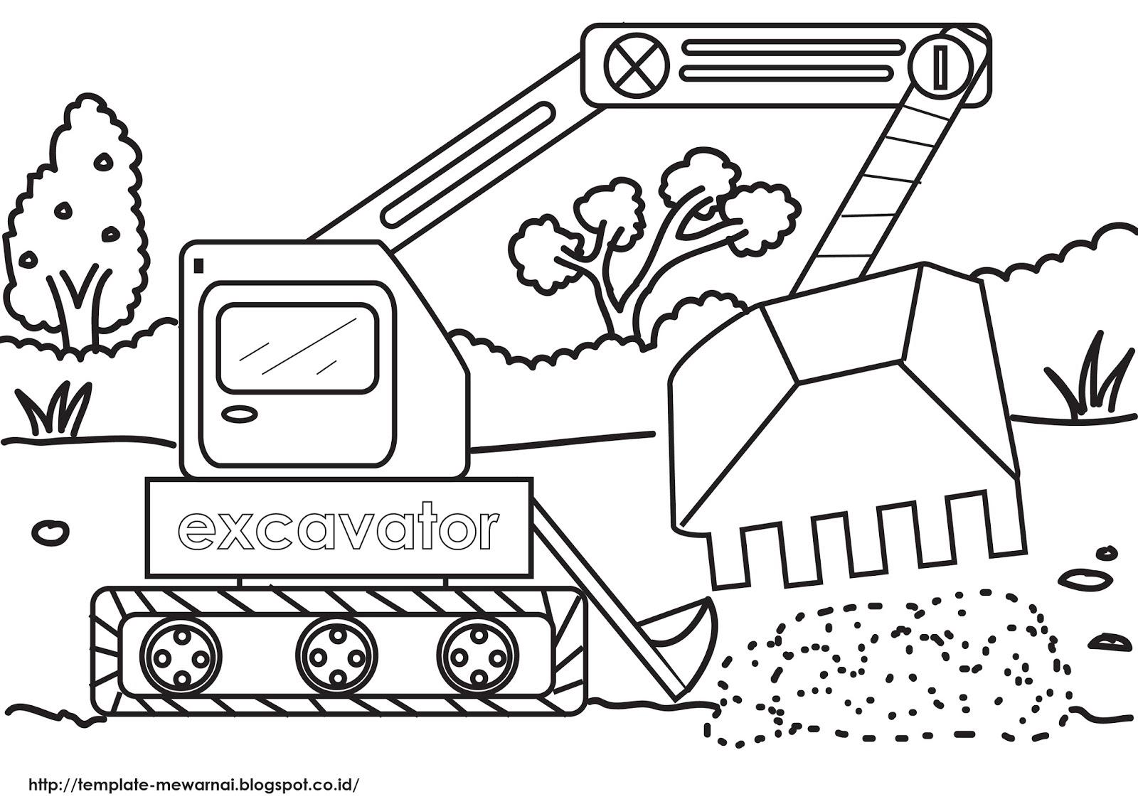 Seri Alat Berat Excavator