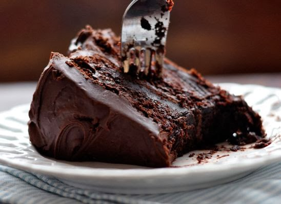 Chocolate Cake With Chocolate Pudding Frosting