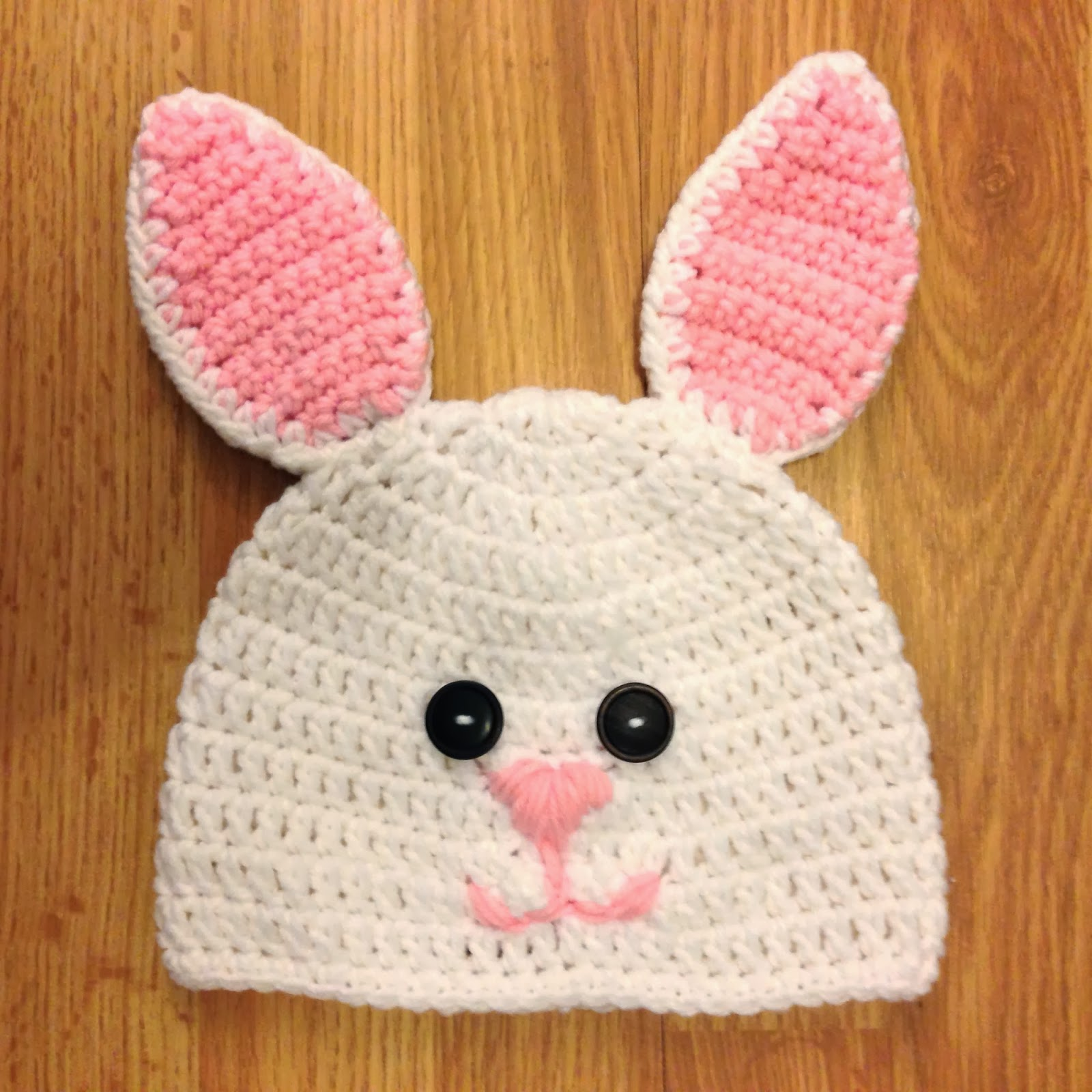 A project I recently finished is this adorable Crochet Bunny Hat using a  pattern I found on Repeat Crafter Me. cb9f7bac31c7