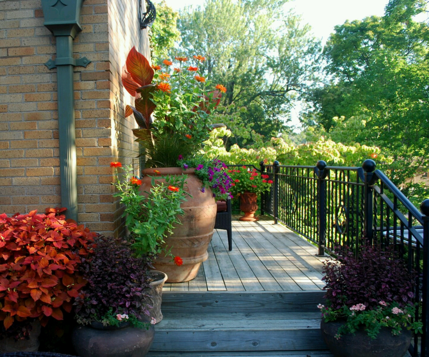 New Home Designs Latest.: Beautiful Home Gardens Designs