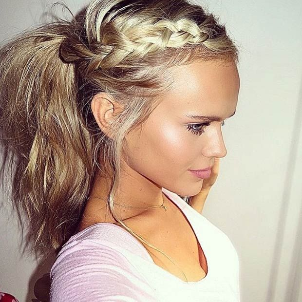 Haircuts And Hairstyles 2017 The Most Preferred Ponytail Hairstyles