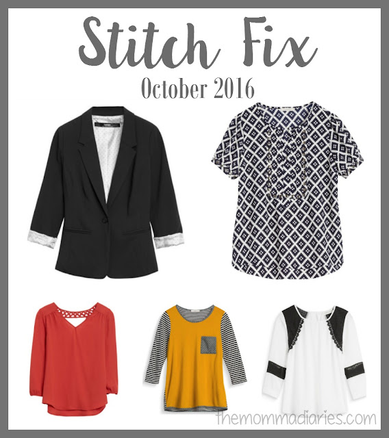 Stitch Fix October 2016, Stitch Fix, Stitch Fix Fall Box