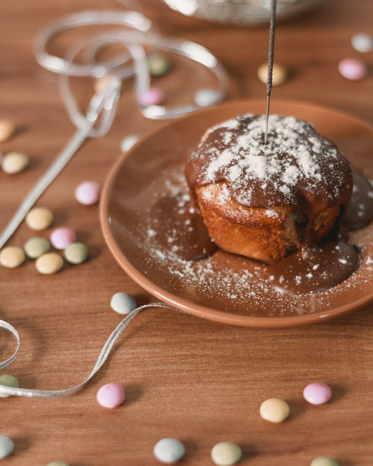 cupcake cobertura chocolate