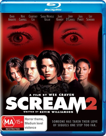 Scream 2 (1997) Dual Audio Hindi 720p BluRay 850mb