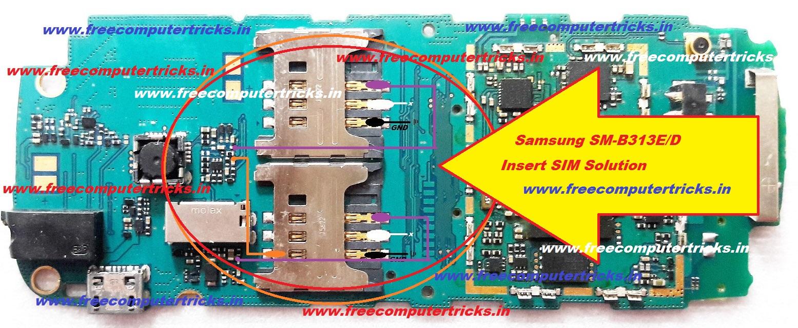 Samsung Sm B313e: Samsung SM-B313E Hardware Solutions