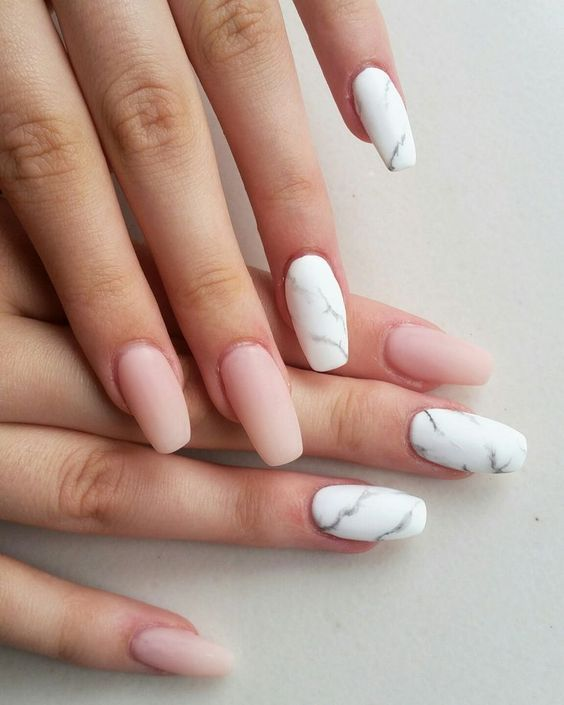 Trendy Summer Wedding Nails Ideas