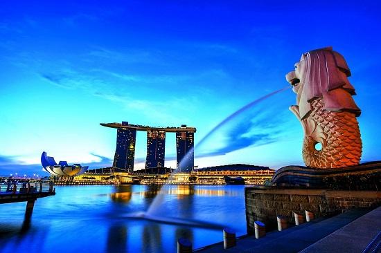 Kết quả hình ảnh cho hinh đảo sư tử singapore