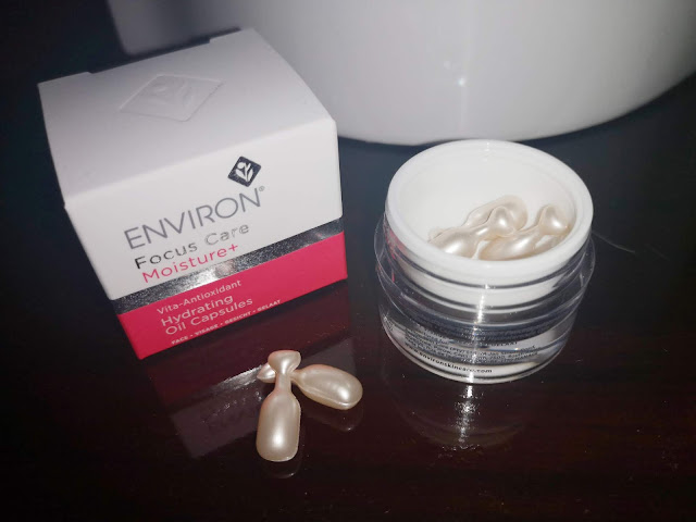 environ focus care moisture+ hydrating oil capsules review