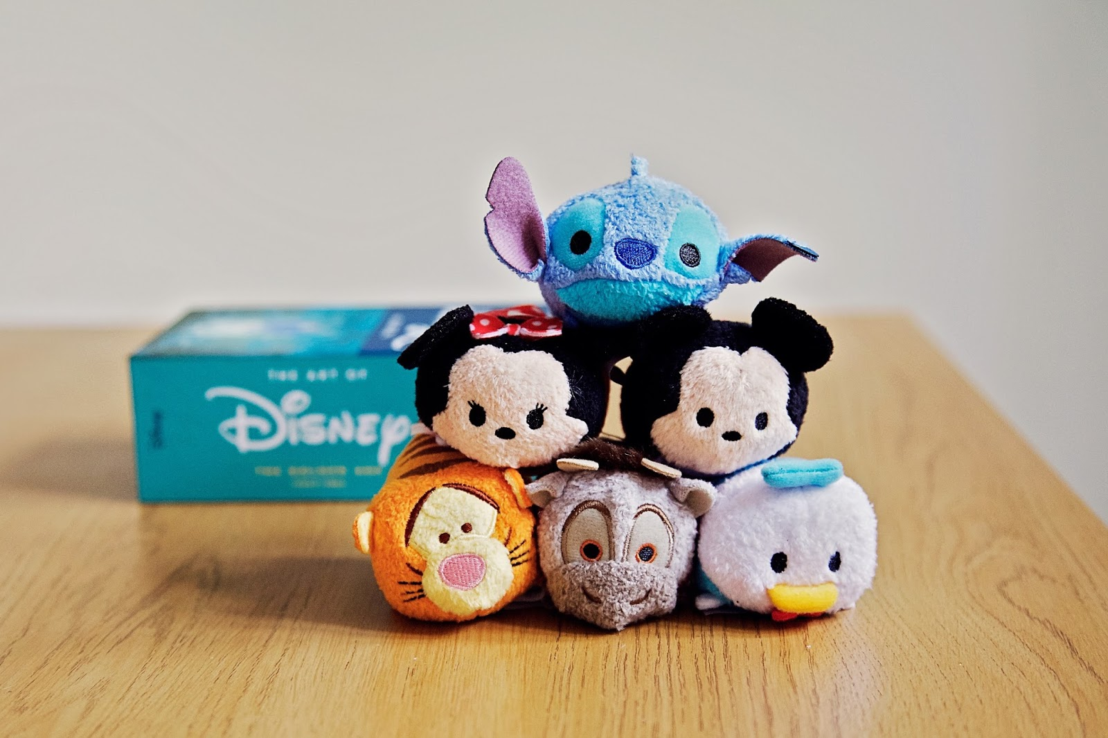 A Pyramid Stack of Disney Tsum Tsums