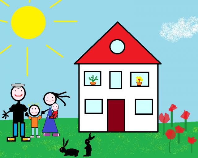 Glückwunsch zum Haus - Hauskauf mit Baby und Kleinkind