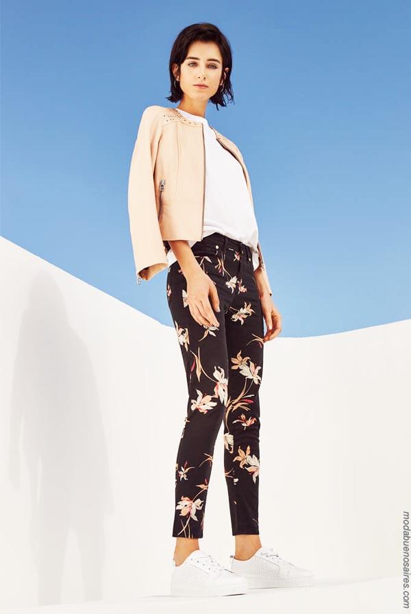 Moda ropa de mujer primavera verano 2019.