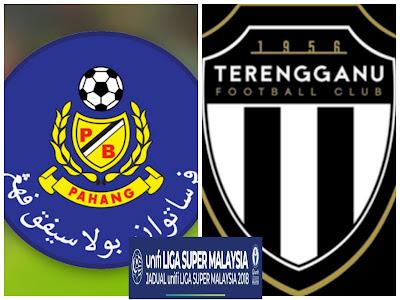Live Streaming Pahang vs Terengganu 11 Mei 2018 Liga Super