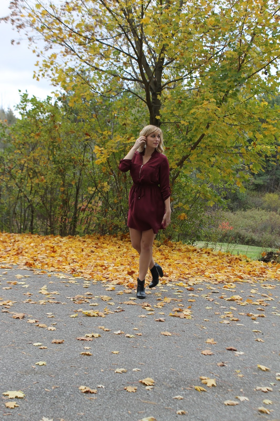 fall-outfit-with-dress