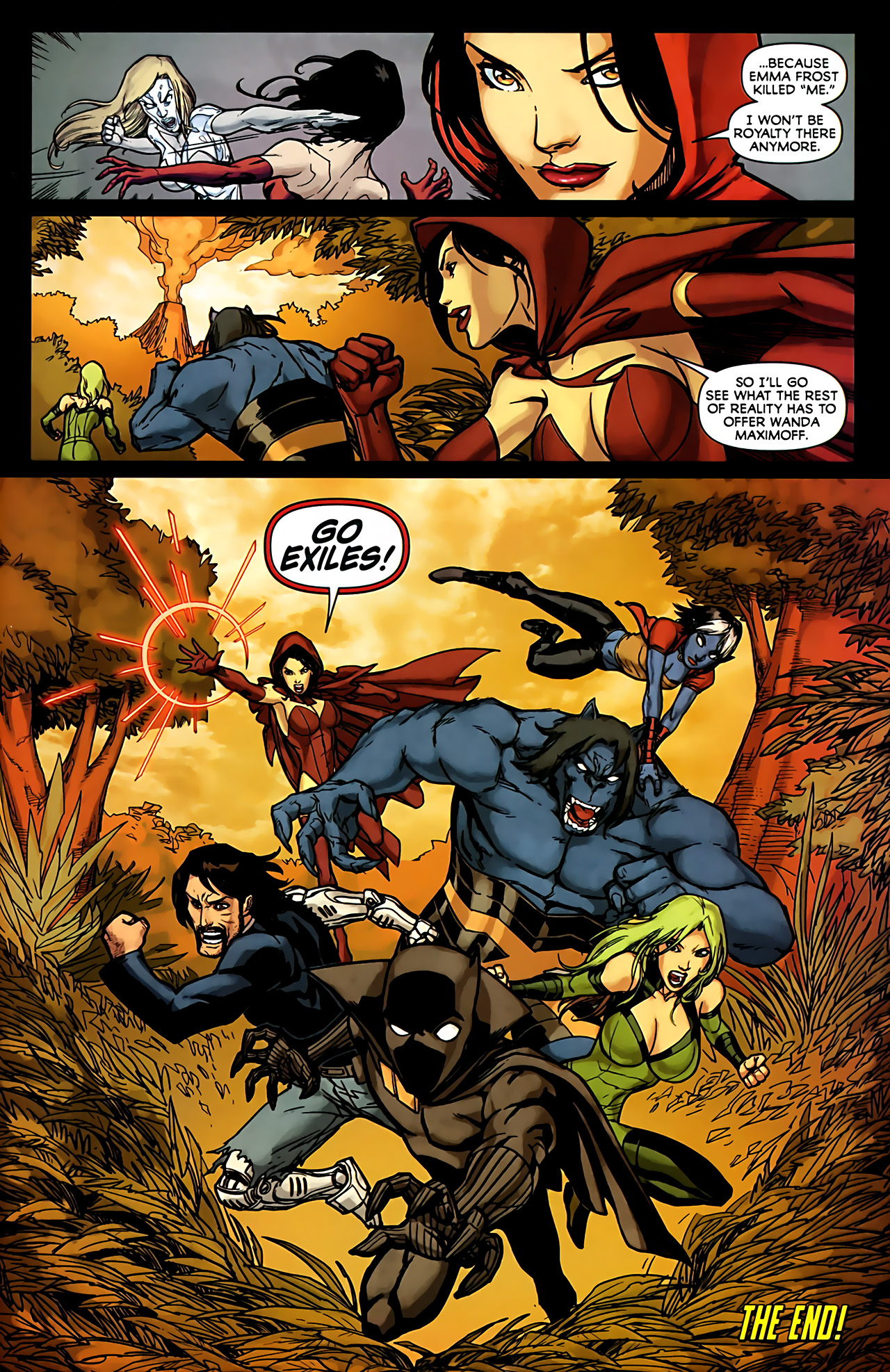 Read online Exiles (2009) comic -  Issue #6 - 41
