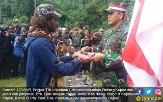 Turun Gunung, 77 Mantan Anggota OPM Kembali ke NKRI