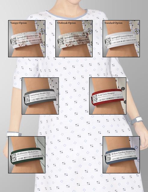 Hospital Wear Textures