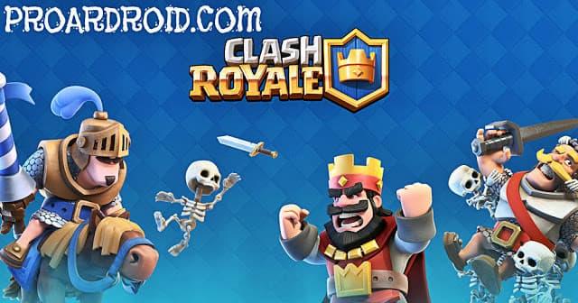 لعبة Clash Royale Apk v2.5.0 مهكرة كاملة للأندرويد (اخر اصدار) logo