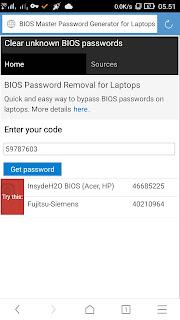 Cara Reset Password di BIOS tanpa membuka casing