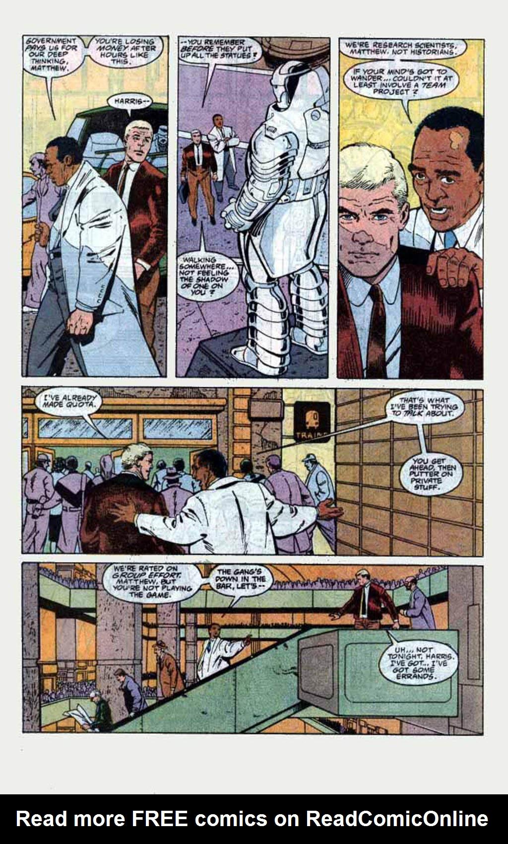 Read online Armageddon 2001 comic -  Issue #1 - 15