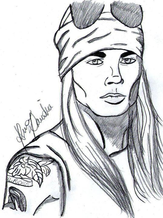 Baú The Rockers.: Axl Rose.