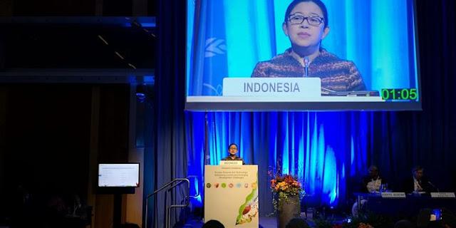 Pidato Menko Puan di Forum IAEA Katakan Manfaat Nuklir untuk Korban Tsunami Palu