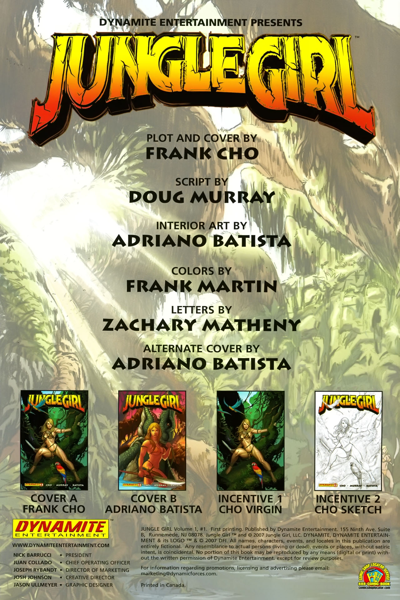 Read online Jungle Girl comic -  Issue #1 - 3