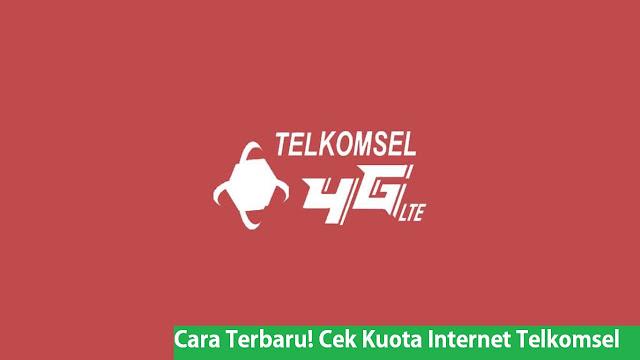 Cara Terbaru! Cek Kuota Internet Telkomsel