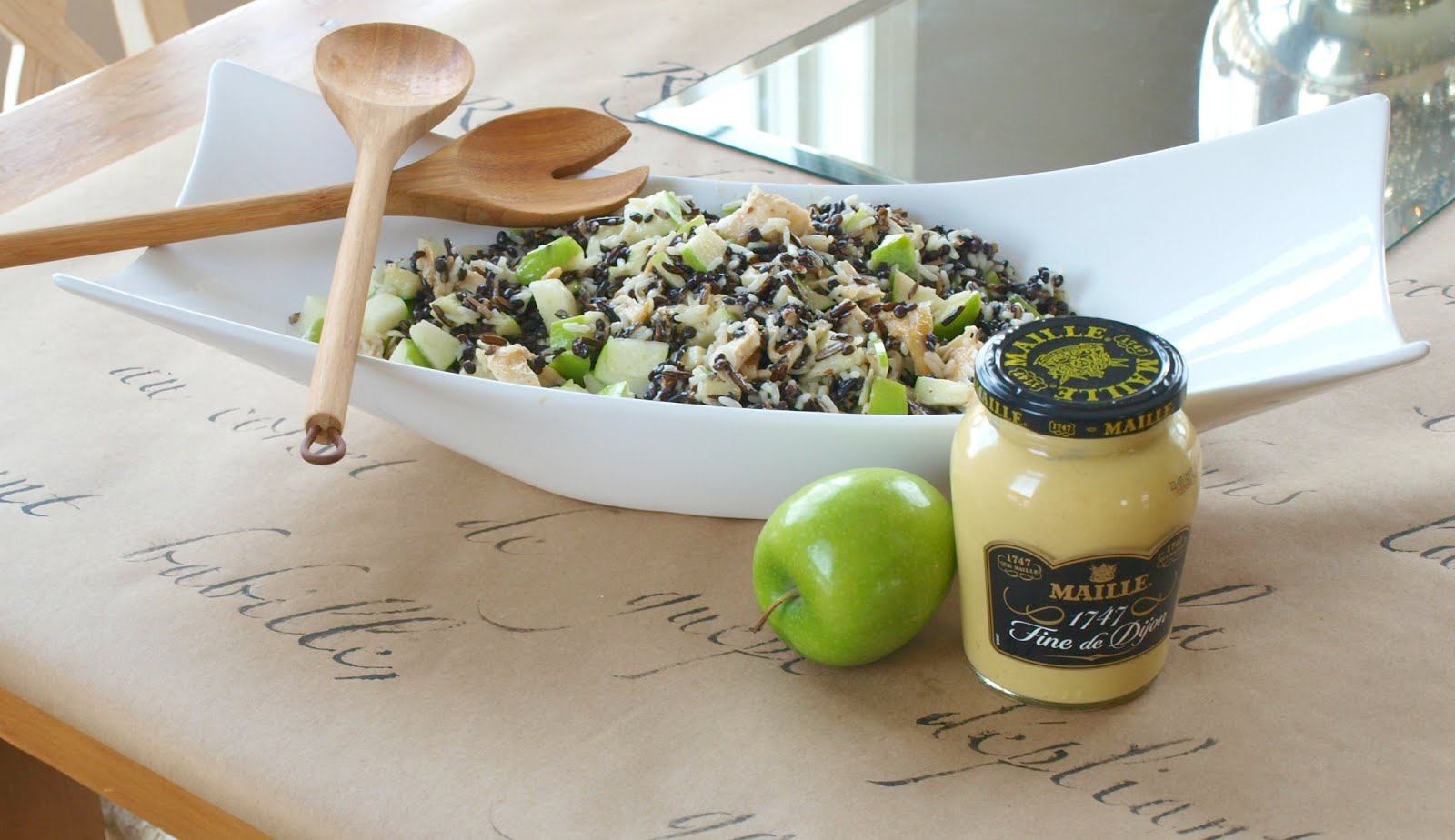 image result for recipe chicken salad wild rice lentils apple
