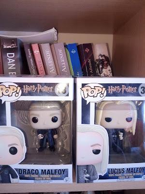 #Shopping - Colecção Funko Pop Harry Potter com a família Malfoy, Draco e Lucius
