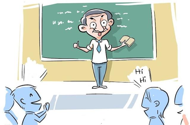 Khi 12 chòm sao được giáo viên tuyên dương trước lớp