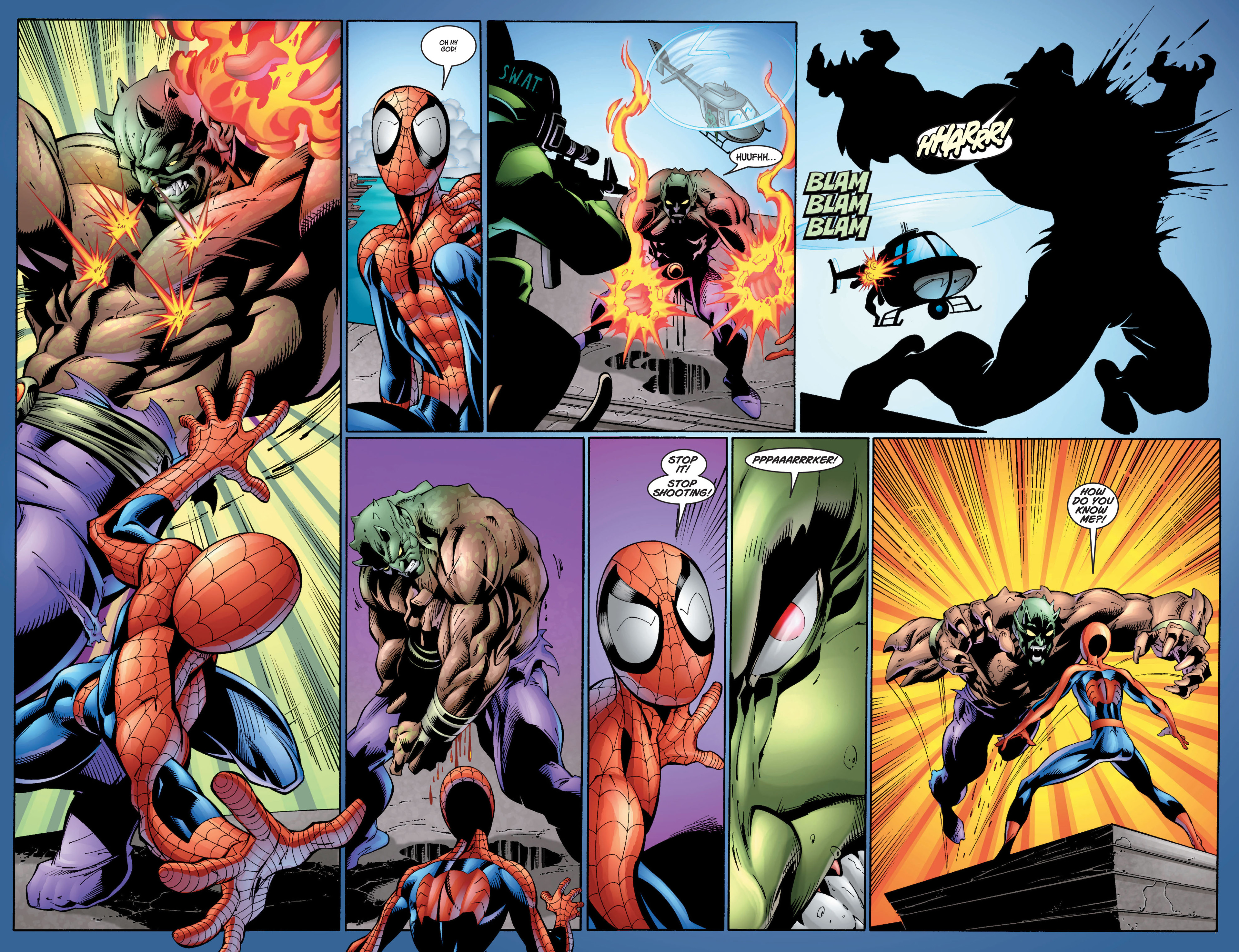 Read online Ultimate Spider-Man (2000) comic -  Issue #7 - 13