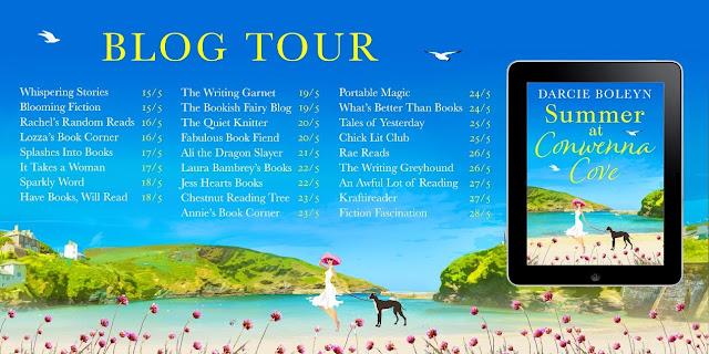 blog-tour, book, summer-at-conwenna-cove, darcie-boleyn
