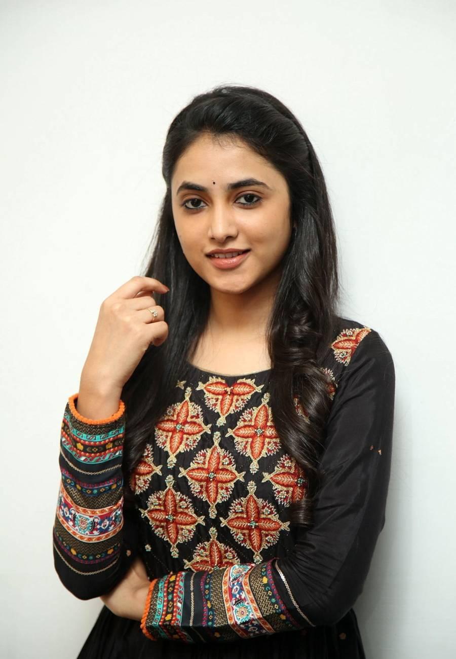 Priyanka Arul Mohan Hot at Gangleader Movie Press Meet