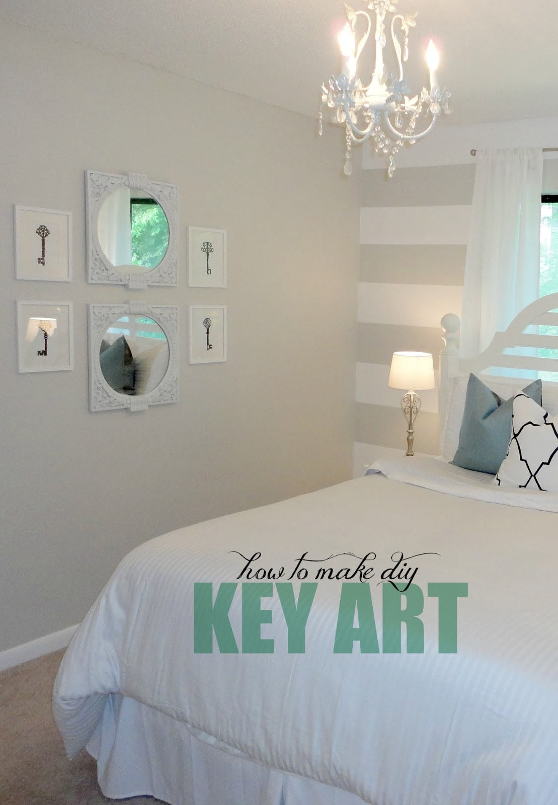 livelovediy 10 diy art ideas easy ways to decorate your walls. Black Bedroom Furniture Sets. Home Design Ideas