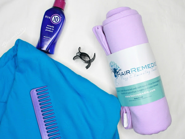 Hair Remedie: The Frizz Eliminating Towels