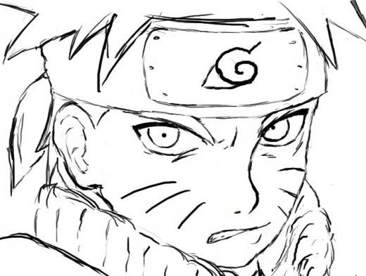 Imagens Para Colorir Do Naruto Shippuden
