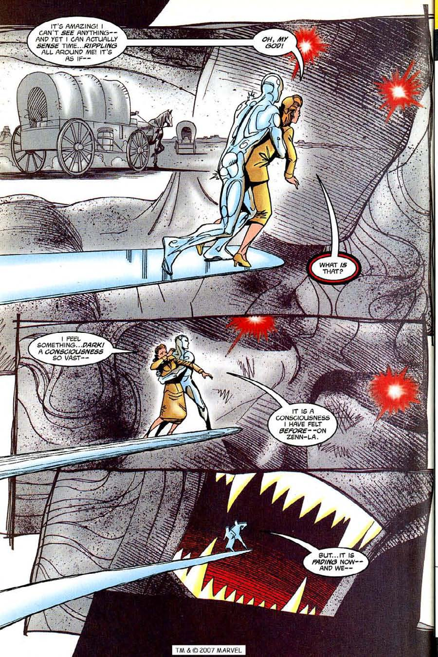 Read online Silver Surfer (1987) comic -  Issue #131 - 32