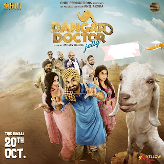 Dangar Doctor Jelly 2017 Punjabi Movie 180Mb hevc HDRip