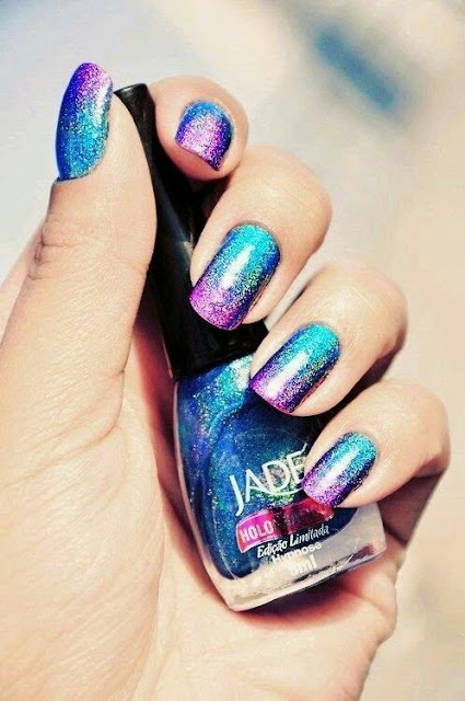 Colourfull nail art