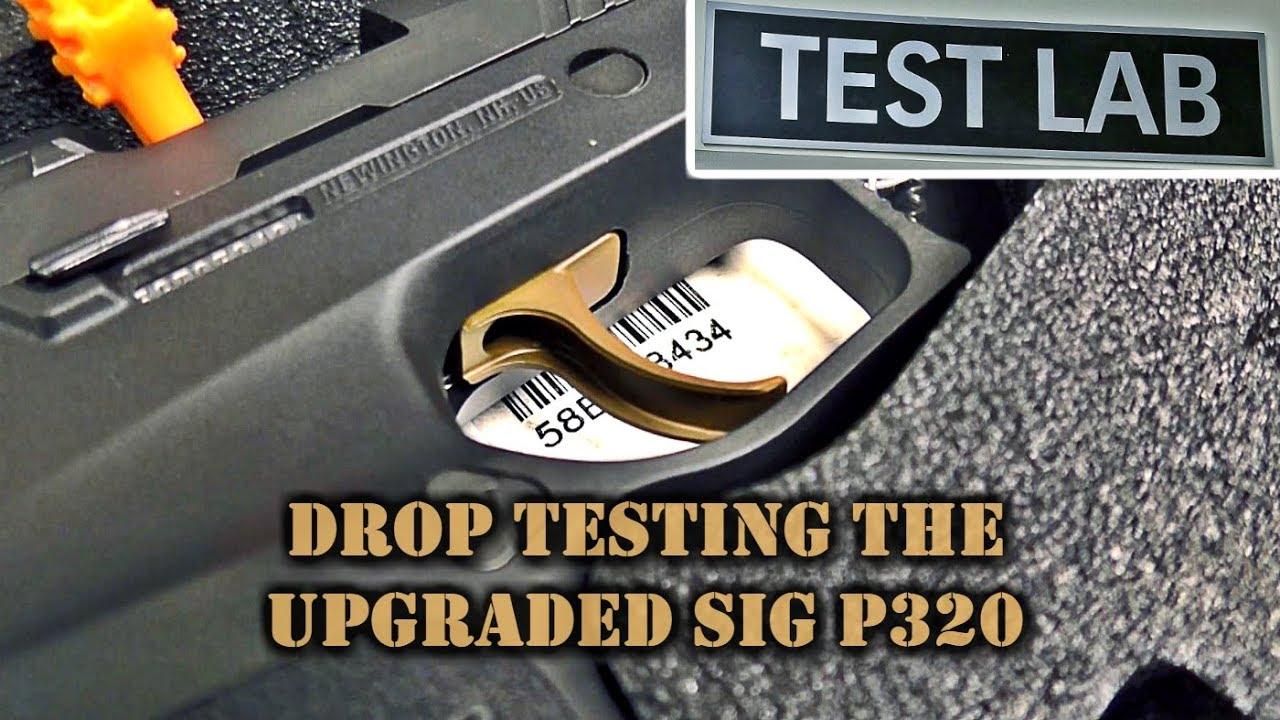 ... την δοκιμή του P320 με τα εξαρτήματα που περιλαμβάνονται στην  εθελοντική αναβάθμισή τους. Αυτά περιλαμβάνουν μια νέα σκανδάλη με μειωμένη  μάζα 6c9749aa866