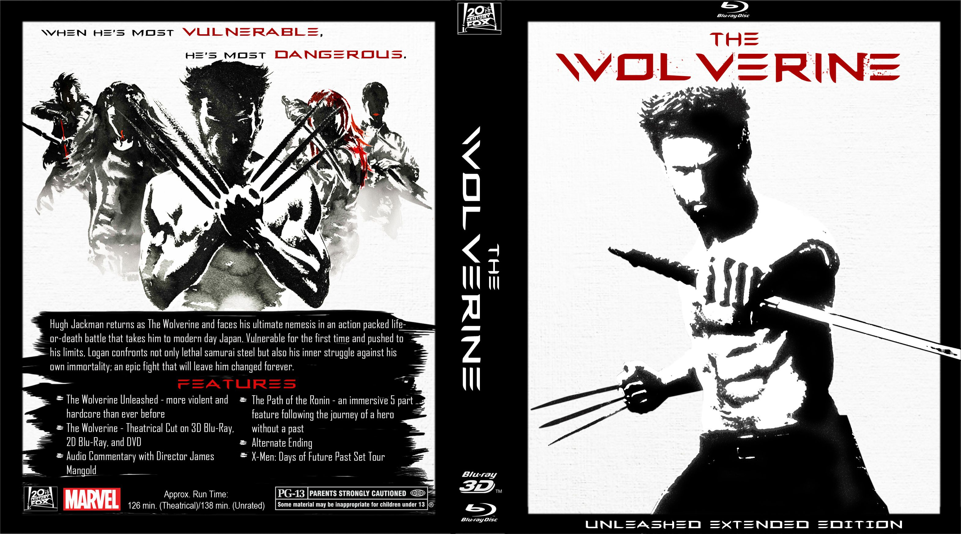 Capa Bluray The Wolverine