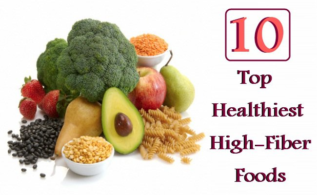 List Of Top  Fibre Foods