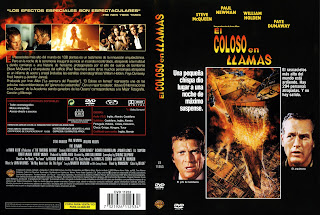Carátula dvd: El Coloso en llamas / The Towering Inferno