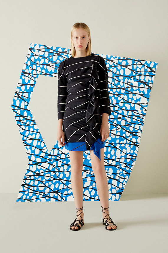 abstract and optical effect patterns, fashion trends