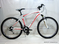A 26 Inch Genio Tread Alloy Frame Mountain Bike