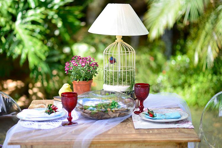 muebles para el jardín o exteriores