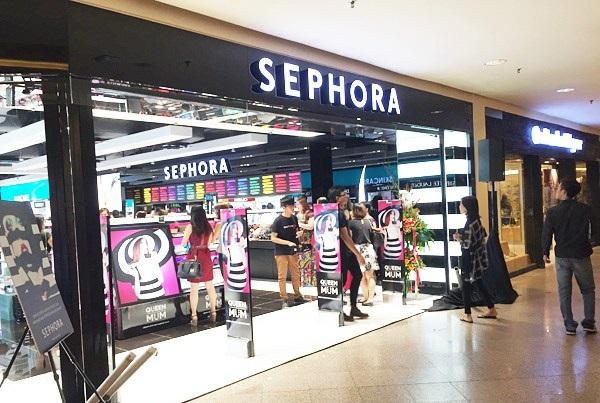 Compras de maquiagem na Sephora em San Diego