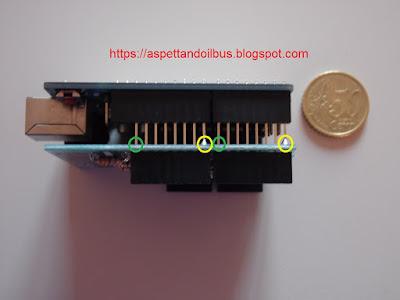Fig. 9 - Kit innestato su Arduino UNO R3 - Foto di Paolo Luongo