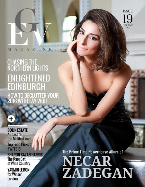 Actress, Model, @ Necar Zadegan - GEV Magazine Issue , 2016